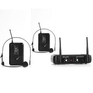 MICROPHONE - ACCESSOIRE Malone UHF-250 Duo2 Set micro UHF sans fil
