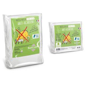PROTÈGE MATELAS  SWEETHOME Lot Protection de Literie 100% coton Ant
