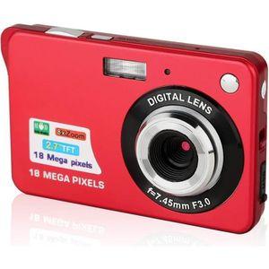 APPAREIL PHOTO COMPACT Mini Appareil Photo Numérique HD, Ecran LCD 2,7 po