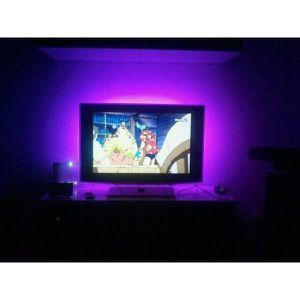 TÉLÉCOMMANDE TV Lot de 2 Packs rétroeclairage led pour TV 2x90 cm