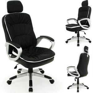 CHAISE DE BUREAU Chaise de bureau Confort - Repose tête flexible