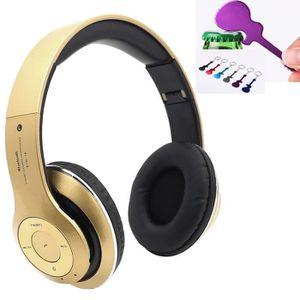 CASQUE - ÉCOUTEURS 4 EN 1 Multifonction Casque audio/Casque Bluetooth