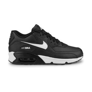 BASKET Nike Air Max 90 Leather Junior Noir (40)