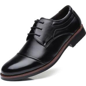 Woodland homme lacets en cuir cousu Goodyear Bottes Mode Confort Décontracté Marron