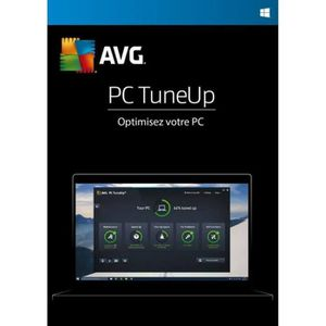 UTILITAIRE AVG PC TuneUp 2019 - (1 Appareil - 2 Ans) | Versio