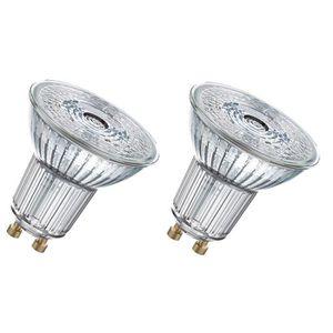 AMPOULE - LED OSRAM Lot de 2 Ampoules Spots LED PAR16 GU10 4,3 W