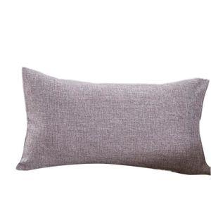 Coussin gris deco