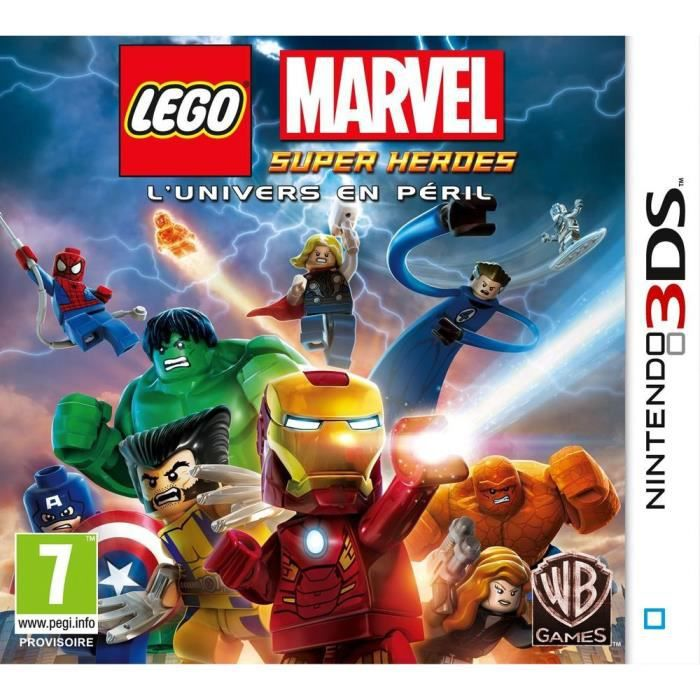 LEGO Marvel Super Hereos Jeu 3DS
