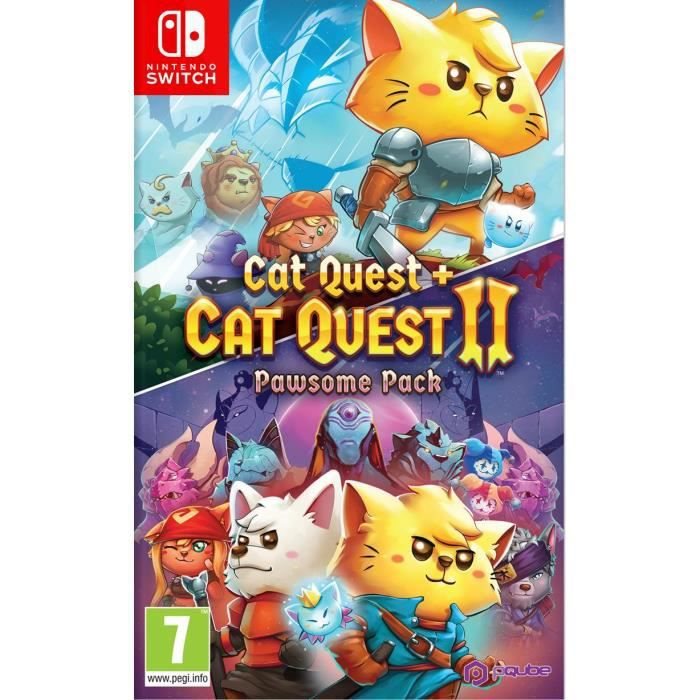 Cat Quest 1+2 Pawsome pack Jeu Nintendo Switch
