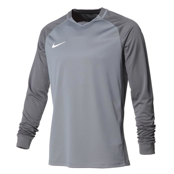 NIKE Maillot Manches longues Trophy III - Homme - Gris froid