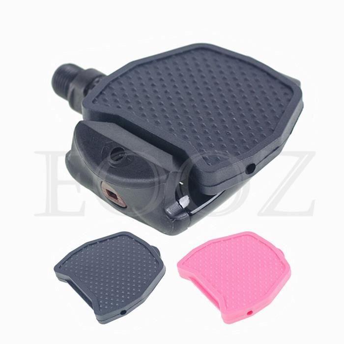 Pièce Détachée,Crampons de pédale de vélo de route pour SHIMANO LOOK pédale cyclisme auto bloquant pédales - Type KEO Pink