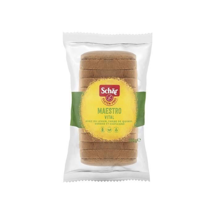 SCHAR Pain Vital de Maître Boulanger Sans Gluten - 350 g