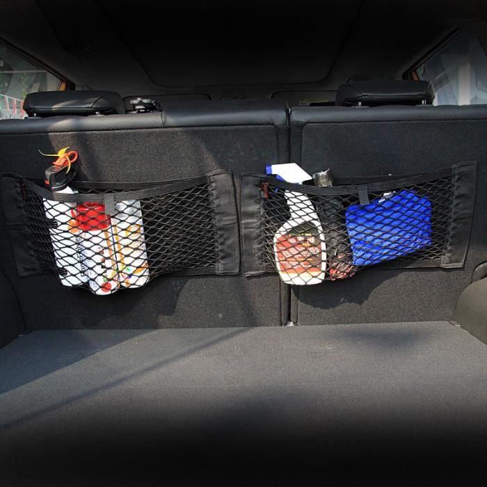 40x20cm -Filet autocollant pour sac de rangement, boîte de coffre de voiture, autocollant pour accessoires Peugeot 307 308 407 206 2