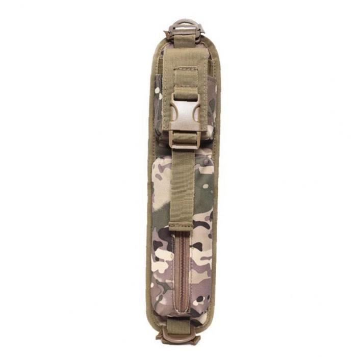 Molle Sac à dos Sac bandoulière Ruban d'accessoires de stockage Camouflage
