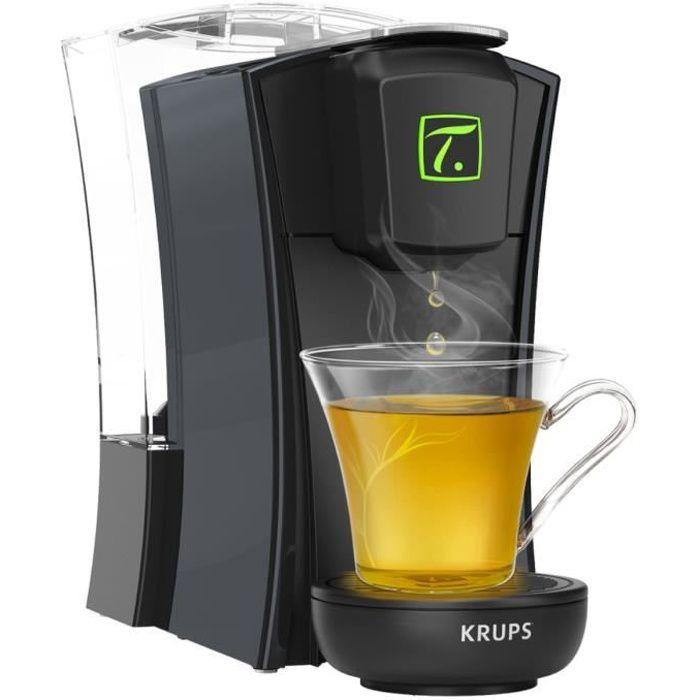 KRUPS YY4121FD Machine à thé à capsules Spécial.T MINI.T - Noir
