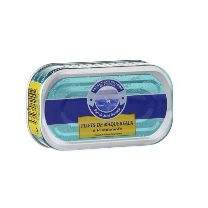 Filets de maquereau à la moutarde, 113 gr