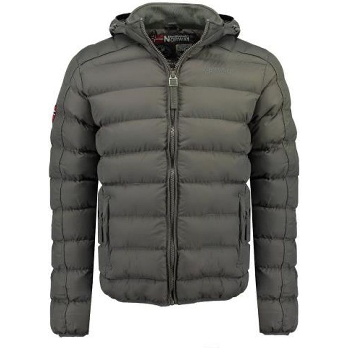 Doudoune Homme Geographical Norway Bombe Gris