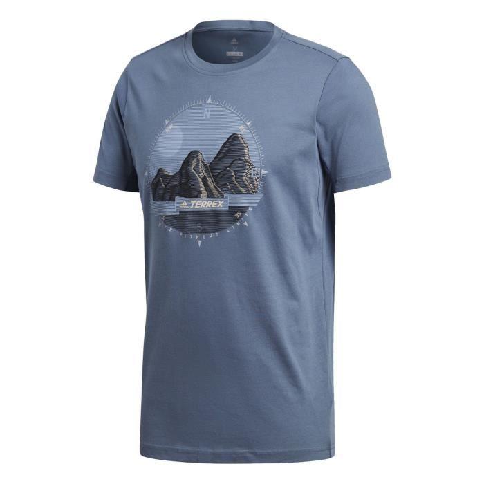 adidas Performance T-shirt M Compass Tee