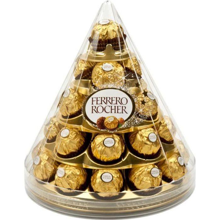 Ferrero Rocher Cône de Noël (28 bouchées)