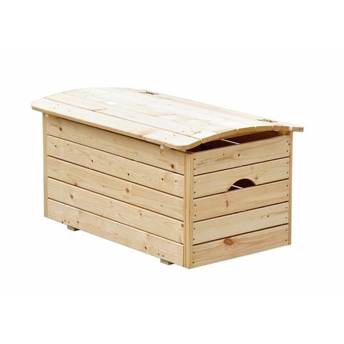 Coffre en bois pour jouets Outdoor Toys