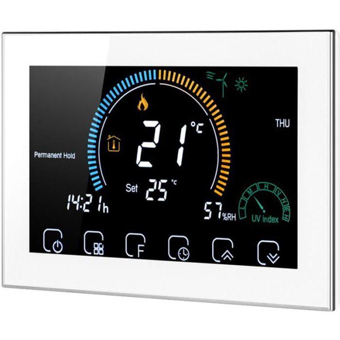 1 Ensemble Contrôleur de Température Intelligent Sans Fil à thermostat d'ambiance genie thermique - climatique - chauffage