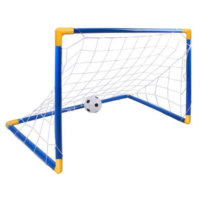 1 ensemble de but de football assemblage portable bricolage porte de de amusant jeu de plein air intérieur MINI CAGE - MINI BUT