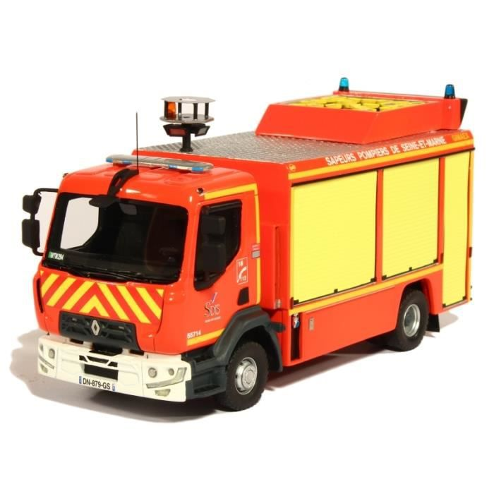 camion de pompiers renault midlum midlum vsr gimaex 77 melun 1 43 alerte achat vente voiture. Black Bedroom Furniture Sets. Home Design Ideas