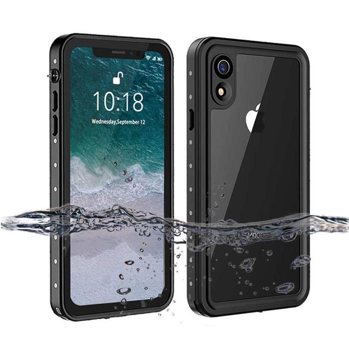 ototon r coque etanche iphone xr impermeable ip68