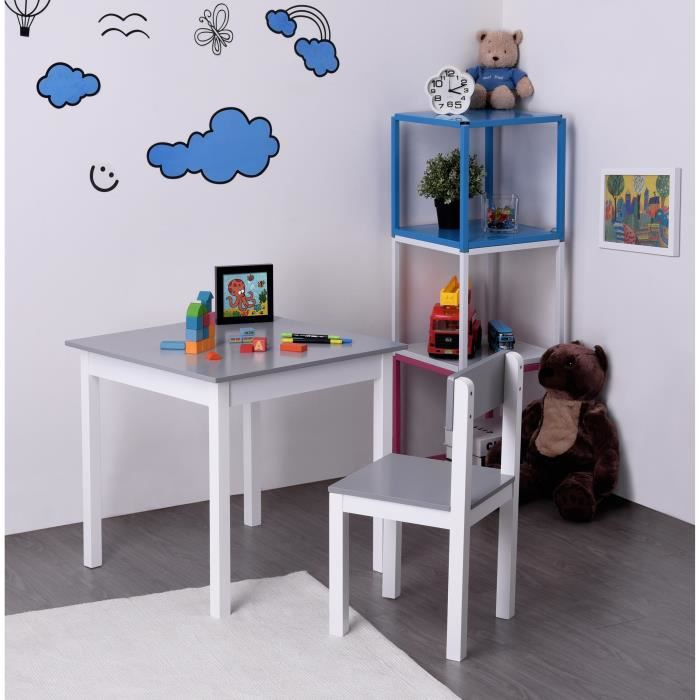 awesome finlandek bureau enfant classique chaise kissa g with bureau garcon vertbaudet. Black Bedroom Furniture Sets. Home Design Ideas
