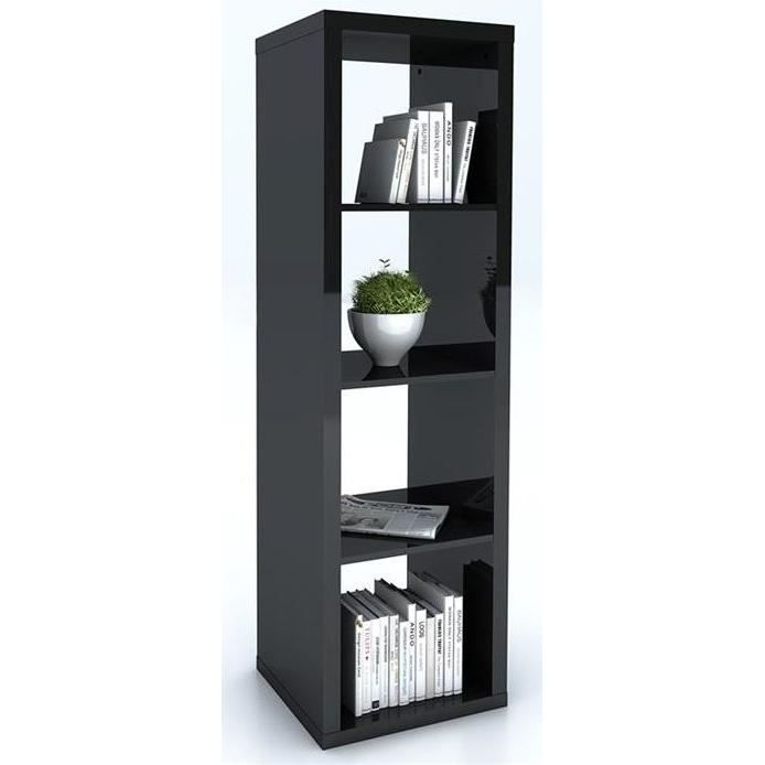 etag re colonne pensacola noire achat vente meuble tag re etag re colonne pensacola n. Black Bedroom Furniture Sets. Home Design Ideas