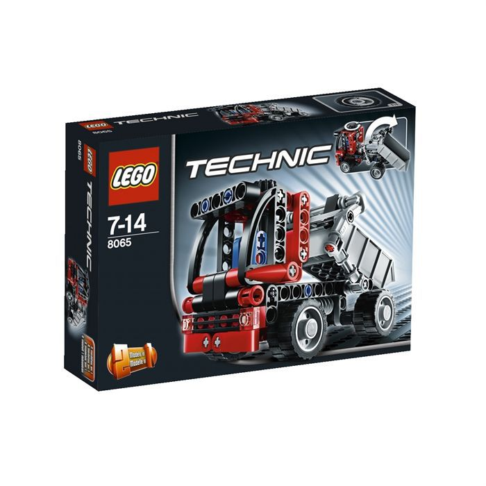 lego technic le mini camion benne achat vente assemblage construction soldes d t cdiscount. Black Bedroom Furniture Sets. Home Design Ideas