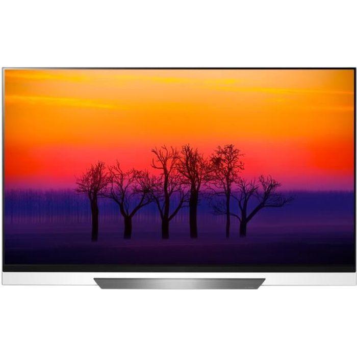 """Téléviseur LED LG ThinQ OLED65E8PLA Classe 65"""" E8 Series TV OLED"""
