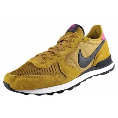 nike internationalist femme jaune moutarde