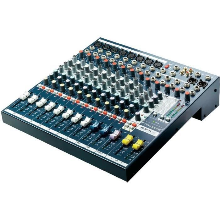table de mixage soundcraft efx8 table de mixage avis et prix pas cher cdiscount. Black Bedroom Furniture Sets. Home Design Ideas