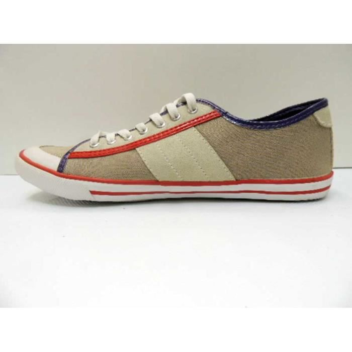 Chaussure Baskets Basse Date Tender Low Beige Homme Pointure 41