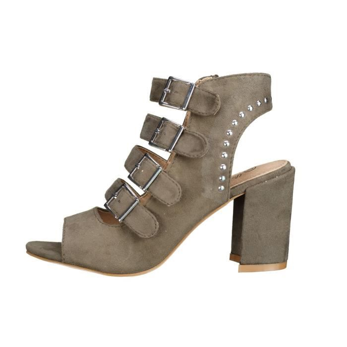 Sandales à talons Lily shoes Fl-2 Army Green