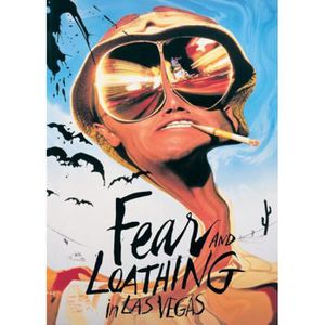 AFFICHE - POSTER Las Vegas Parano Poster - Johnny Depp - Benicio...