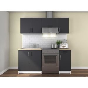 cuisinette kitchenette achat vente cuisinette kitchenette pas cher cdiscount. Black Bedroom Furniture Sets. Home Design Ideas