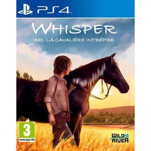 JEU PS4 Whisper Ari, La cavalière intrépide Jeu PS4
