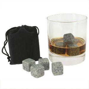 WHISKY BOURBON SCOTCH 9 Pierres A Whisky / Glaçons - Granité