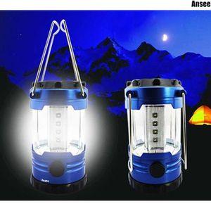 LAMPE - LANTERNE Multifonctionnel Ultra Bright 12 LED tente de camp