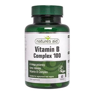 MASQUE SOIN CAPILLAIRE Vitamin B Complex 100mg 60 Tablets