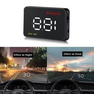 Augneveres Head Up Display C60s Digital de Voiture Universel GPS HUD Compteur de Vitesse Affichage de Vitesse KM//H MPH pour Voiture V/élo Moto Noir