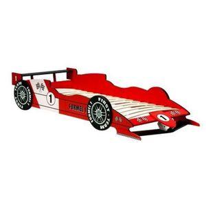 LIT COMPLET Lit auto Formule1 pour chambre de garçon, voiture