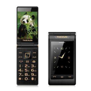 Téléphone portable Flip Téléphone portable débloqué, Clapet Portable