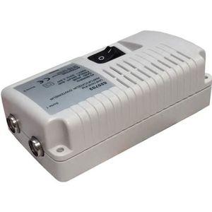 REPETEUR DE SIGNAL Amplificateur int. 2 TV TNT VHF UHF 25 dB - 9,52 m