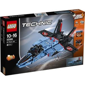 ASSEMBLAGE CONSTRUCTION LEGO® Technic 42066 L'avion Jet de Course