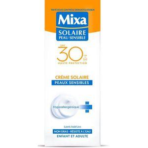 SOLAIRE CORPS VISAGE MIXA Crème solaire Peaux Sensibles - SPF 30 - 75 m