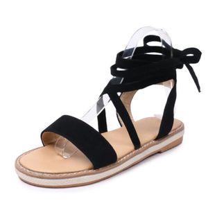 SANDALE - NU-PIEDS Chaussures Femme Sandales Spartiate Montante à Tal
