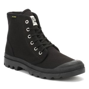 BOTTE Palladium Noir Pampa Originale Hi Botte-UK 10